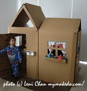 LeniChanCardboardHouse