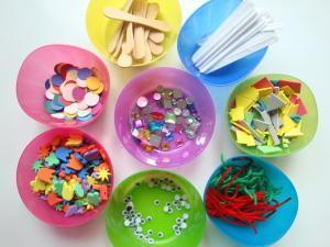 Pripravljeni materiali za ustvarjanje