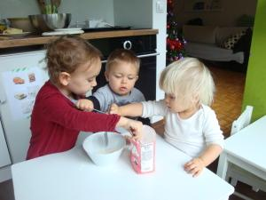 Peka z otroki