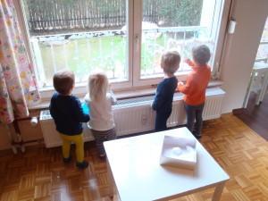 Otroci ustvarjajo - Zimska idila