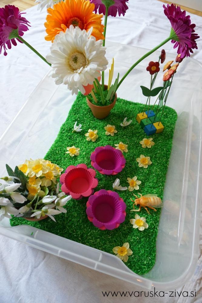 Pomladna senzorična škatla, Pomladne aktivnosti za otroke