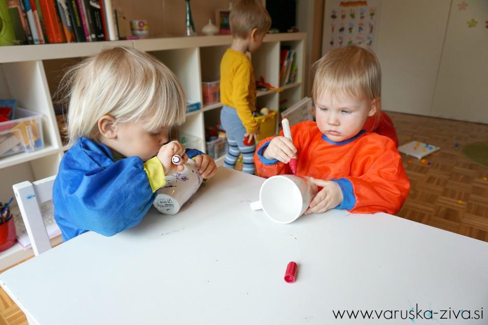 Risanje na keramične skodelice, Darila za materinski dan