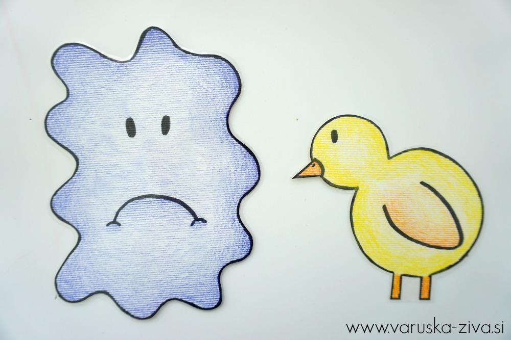 Piščanček pik - žalost
