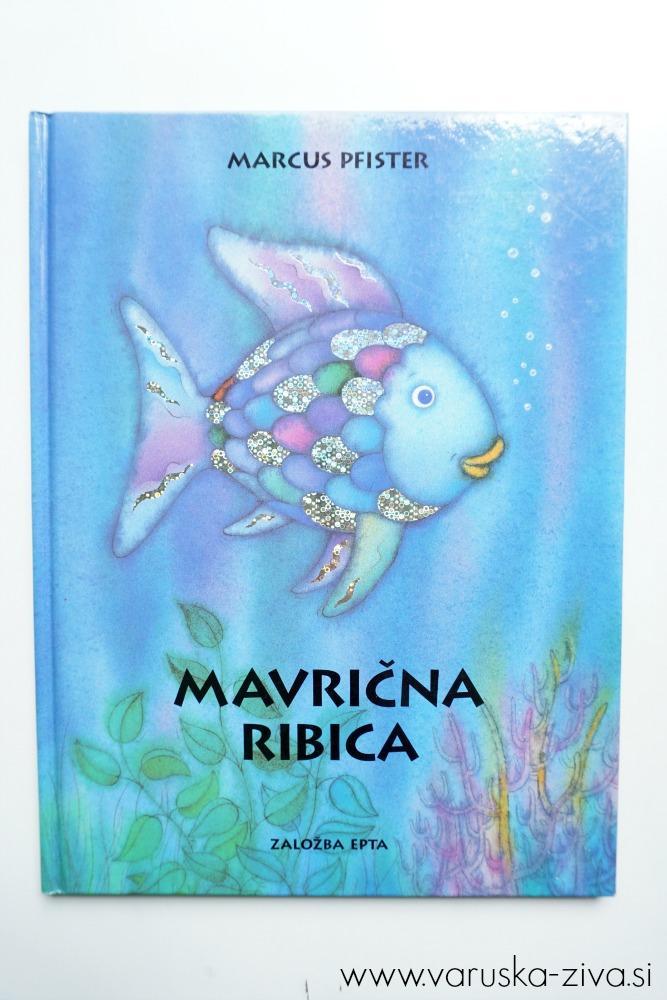 Mavrična ribica, Marcus Pfister