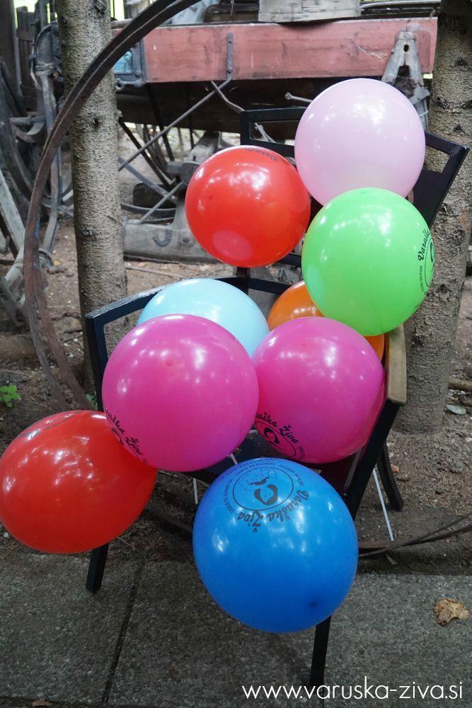 Baloni varuška Živa