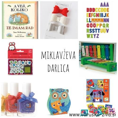 Miklavževa darila za otroke