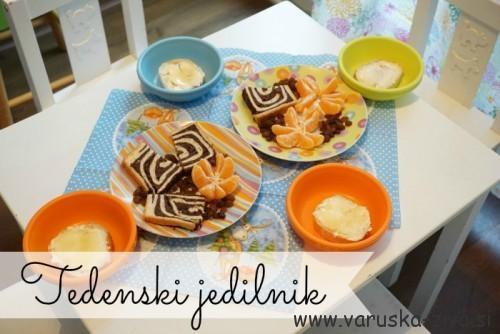 Tedenski jedilnik - praznični zajtrk