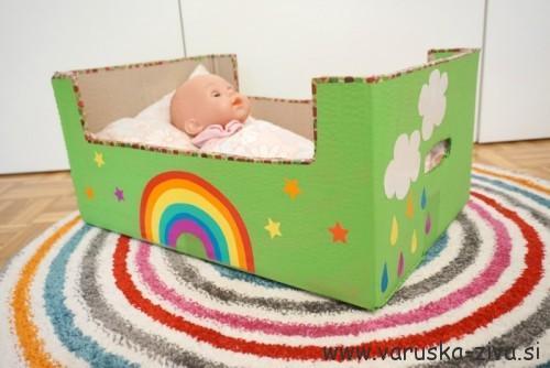 Postelja za dojenčka