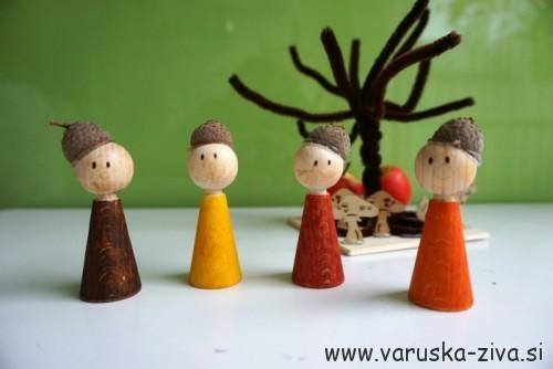 Želodki - doma narejena igrača