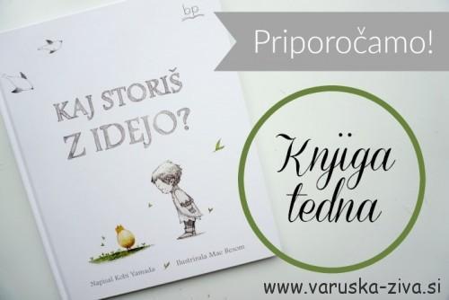 Knjiga tedna: Kaj storiš z idejo? Založba BP