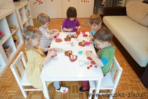 Valentinova pekarna - valentinova aktivnosti za otroke