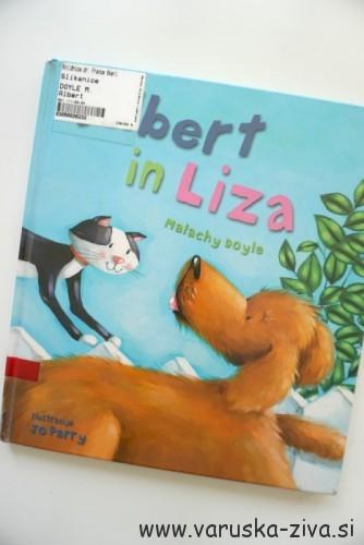 Knjiga tedna: Albert in Liza