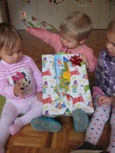 Odpiranje darila