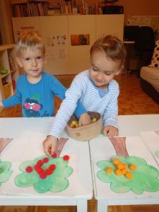 Razvrščanje jabolk - Jesenske dejavnosti