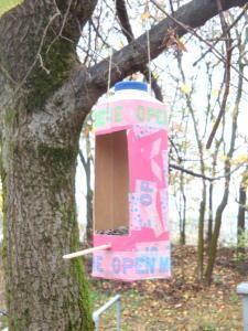 Ptičje hišice iz embalaže za mleko