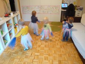 Ples z rutkami - Izrazni ples