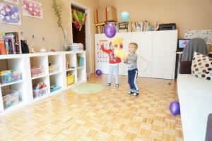 Igra z baloni, Gibalna dejavnost z baloni