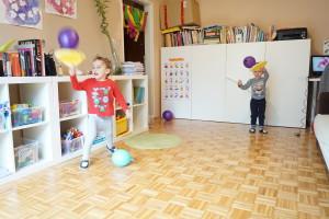 Gibalna dejavnost z baloni
