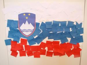 Slovenska zastava - kolaž - Dejavnosti ob Prešernovem dnevu