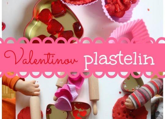 Valentinov plastelin - Dejavnosti za valentinovo