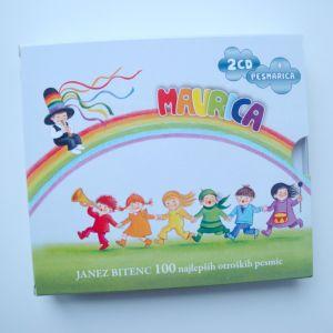 Mavrica - 100 najlepših otroških pesmi