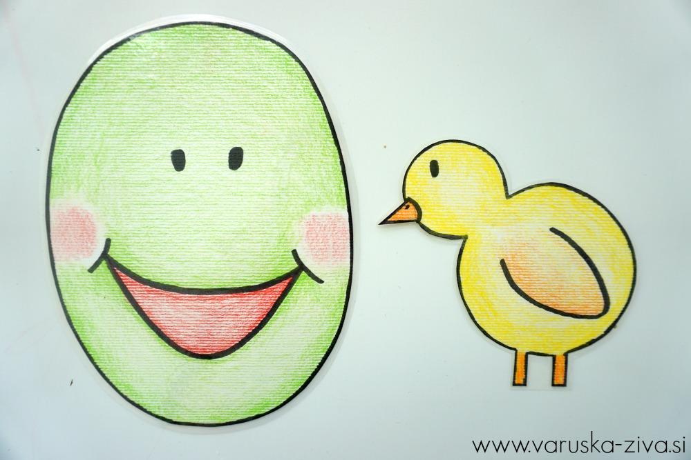 Piščanček pik - veselje