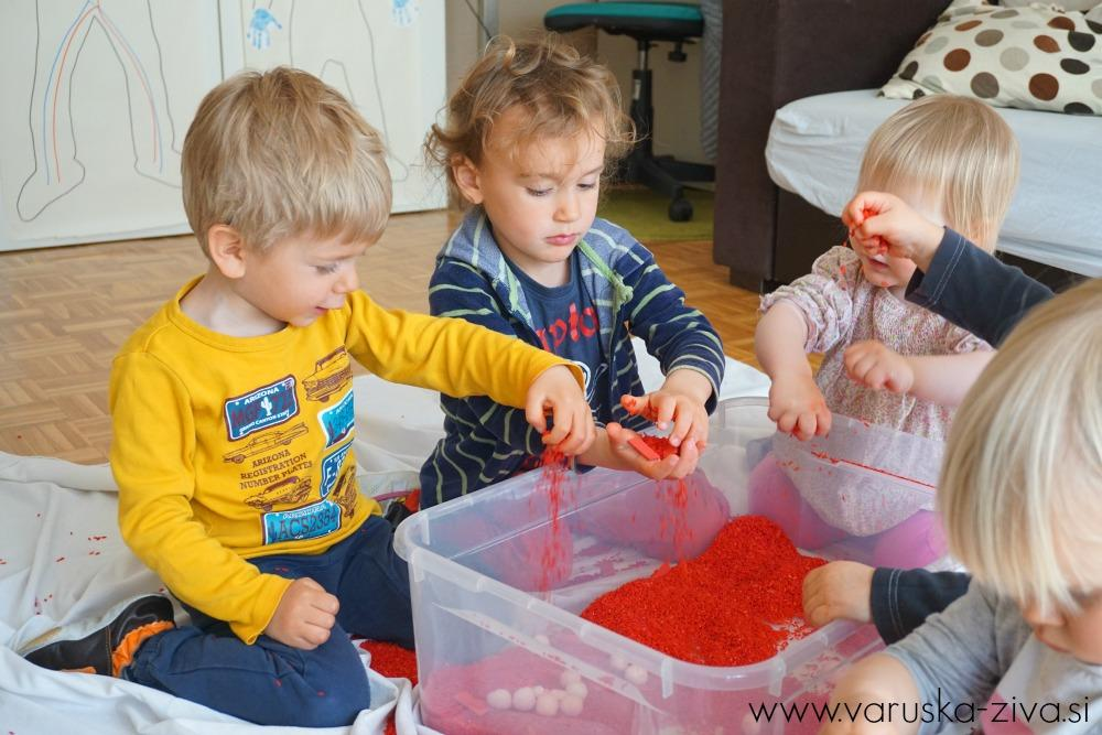 Senzorična škatla: sestava krvi