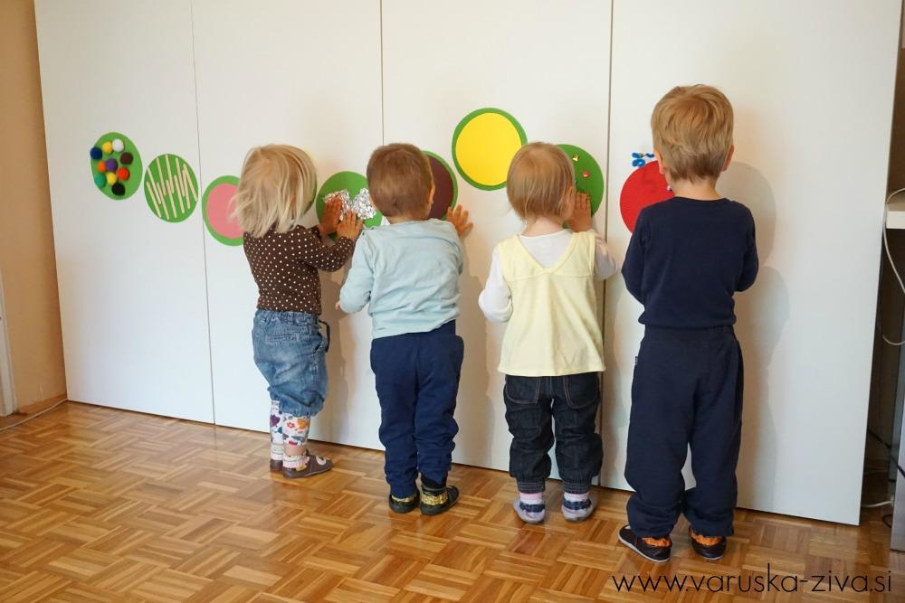 Otroci preizkušajo različne strukture