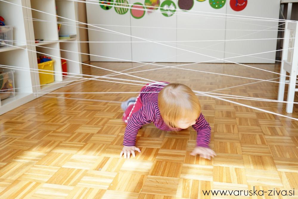 Pajkova mreža - Gibalna dejavnost