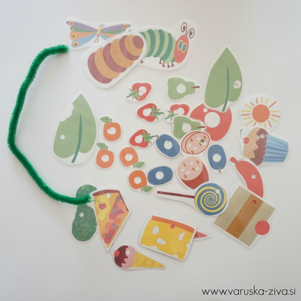 Lutkovna predstava Zelo lačna gosenica