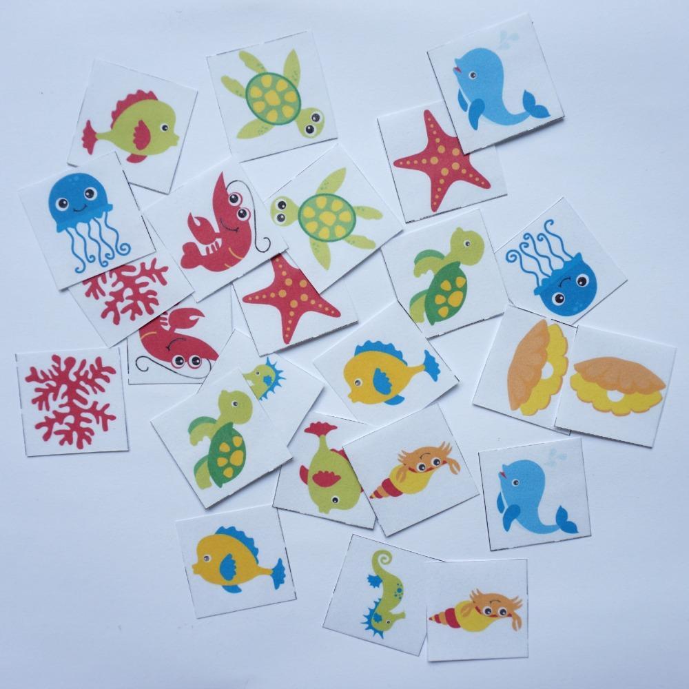 Morske živali spomin