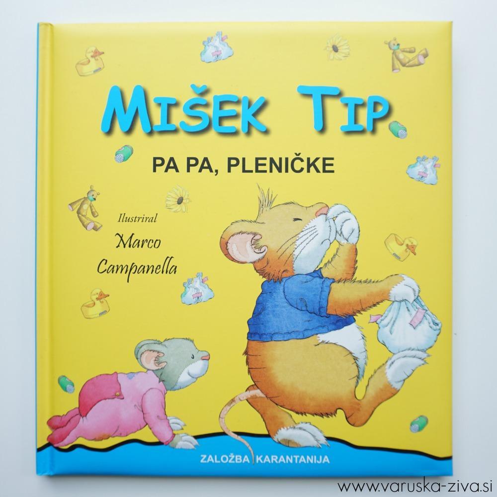 Mišek Tip - Papa, pleničke
