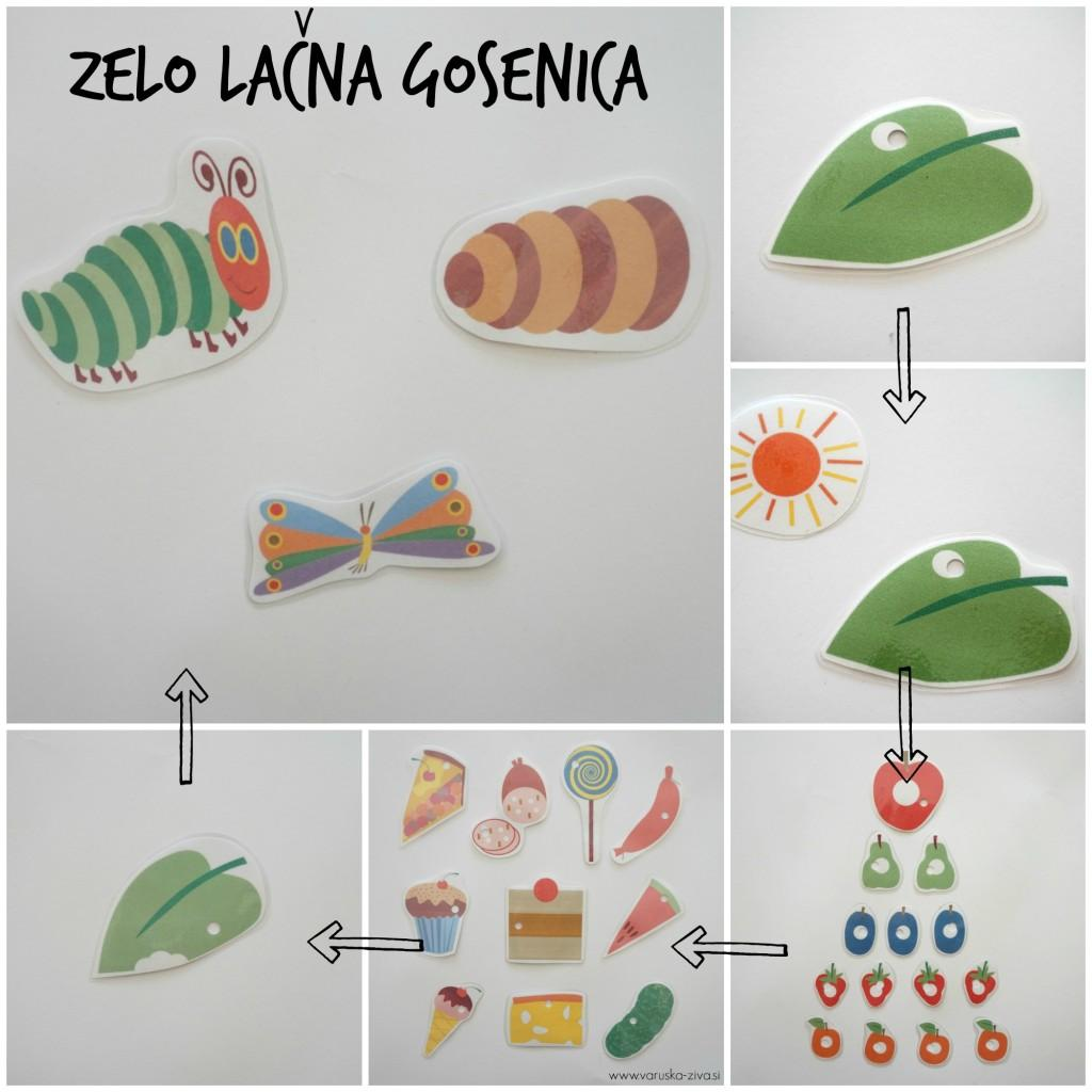 Mini lutkovna predstava Zelo lačna gosenica