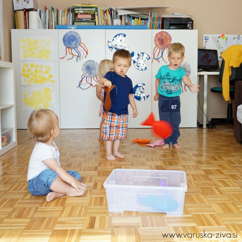 Fižolove ribice - poletne aktivnosti za otroke