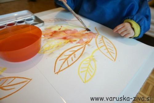 Jesenski listki - jesenske aktivnosti za otroke