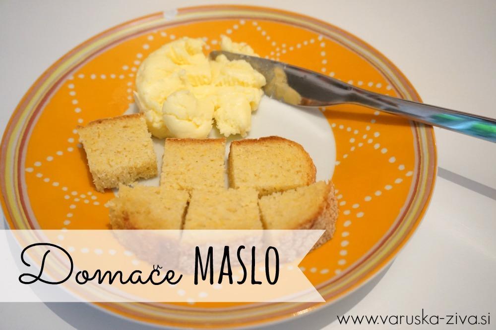 Kako izdelati maslo