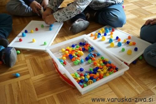 Žebljički za otroke - dobra didaktična igrača