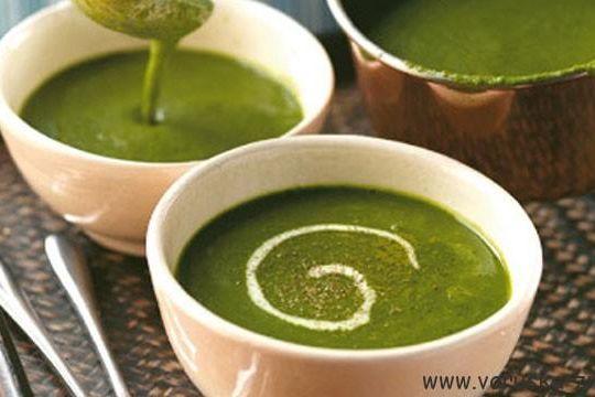 Tedenski jedilnik - Špinačna juha