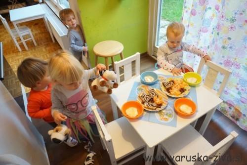 Presenečenje ob pripravljeni mizi