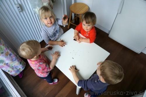 Peka piškotov za otroki