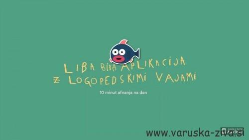 Liba Biba - aplikacija z logopedskimi vajami