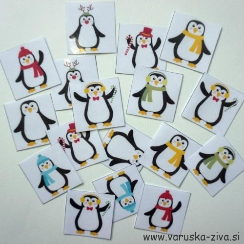 Zimski spomin - pingvinčki