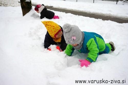Na snegu :)