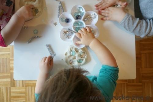 Zimski plastelin - zimske aktivnosti za otroke