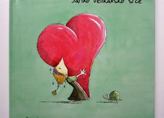Pravljični kotiček: Sarino velikansko srce