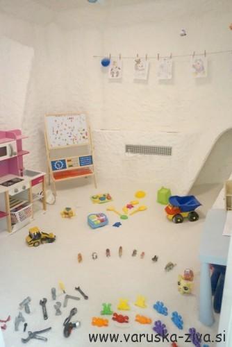 Otroška solna soba