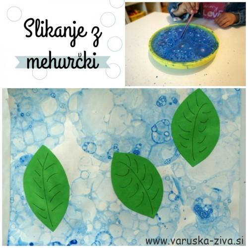 Slikanje z mehurčki