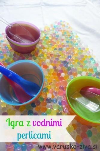 Igra z vodnimi perlicami