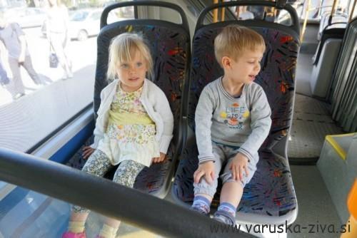 Izlet v mesto - na avtobusu