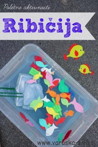 Ribičija - poletne aktivnosti za otroke